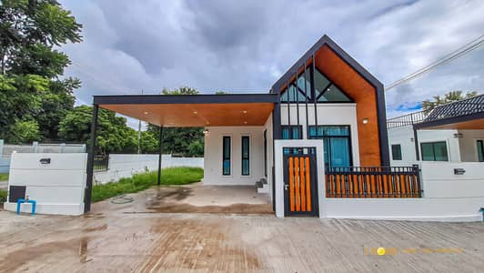 2 Bedroom Home for Sale in San Sai, Chiangmai - CK0725 - A house for sale with 2 bedrooms and 2 bathrooms. Takes  Only 10-15 minutes to reach the town. 51.7 sq. w.