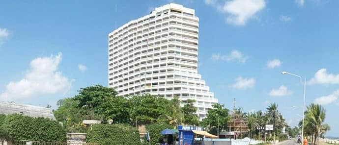 1 Bedroom Condo for Sale in Mueang Rayong, Rayong - Residential unit, 147/341, 19th floor, Building 1, is a seaside condominium. The condition of the room is decorated already. Located in a residential area