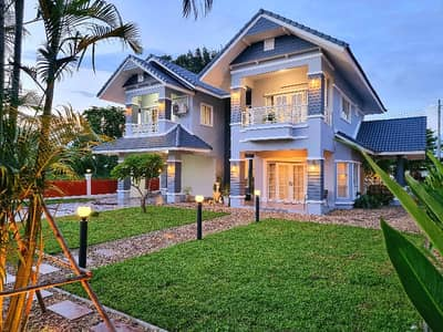 4 Bedroom Home for Sale in Hang Dong, Chiangmai - House for sale in Kulpunn Ville 9 Hang Dong project.