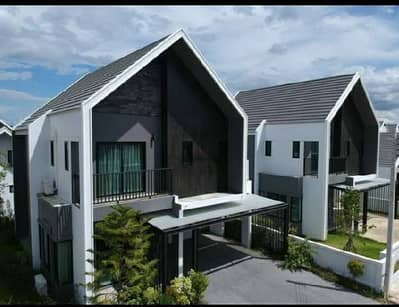 3 Bedroom Home for Rent in Fang, Chiangmai - For rent, Nordic style house. . Maejo, 3 bedrooms, 2 bathrooms. 40,000 / month.