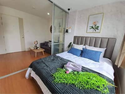 1 Bedroom Condo for Rent in Bang Khen, Bangkok - For rent, Lumpini Ramintra-Ladplakhao, phase 2, ready to move in.