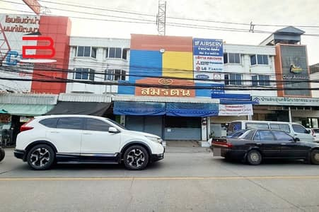 Commercial Building for Sale in Mueang Nonthaburi, Nonthaburi - 3.5 storey commercial building, near Mini Big C, Tha It, area 24 sq m. , has 4 bedrooms, 3 bathrooms, Mueang District, Nonthaburi Province.