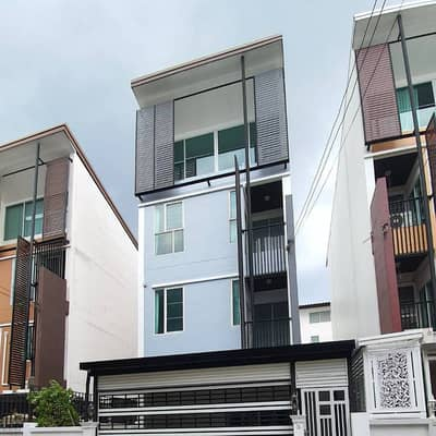Commercial Building for Sale in Pak Kret, Nonthaburi - Single building for sale in Soi Si Chai Thong, near Central Chaengwattana, Nichada University, can do home office, floor 36.70 sq. wa, height 3 and a half floors