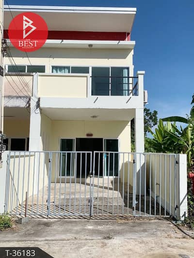 3 Bedroom Townhouse for Sale in Mueang Chanthaburi, Chanthaburi - 2 storey townhome for sale with tenant Chanthanimit, Chanthaburi