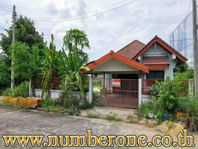 3 Bedroom Home for Sale in Mueang Lop Buri, Lopburi - Selling a detached house, the 13th Army Welfare District, Lopburi Province.