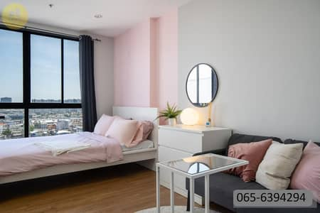 1 Bedroom Condo for Sale in Bang Sue, Bangkok - M3735HH-Condo for sale The Tree Interchange (The Tree Interchange) Next to BTS Bang Pho, 450 meters, renovated throughout the room ready to move in