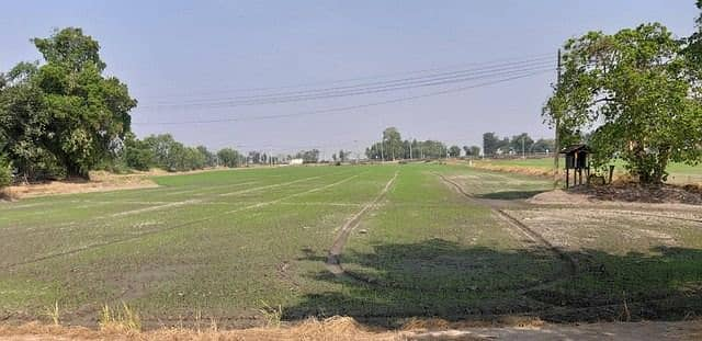 Beautiful land for sale and good location suitable for doing real estate business in Ayutthaya.