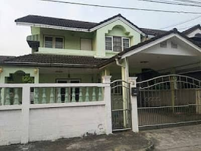 3 Bedroom Home for Rent in Saphan Sung, Bangkok - (( 7 )) Property Code B294 House for rent, area 53 sq m, Laem Thong athlete village. Krungthep Kreetha Road (suitable for living)