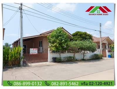3 Bedroom Home for Sale in Phutthamonthon, Nakhonpathom - Urgent sale!! 1 storey detached house, 54.4 sq m. Grand Kittiya M. Phutthamonthon Sai 4 - Salaya, Nakhon Pathom, beautiful decoration, ready to move in, main road, ready to move in, special 2.7 million, contact 086-899-0132 Khun Tik