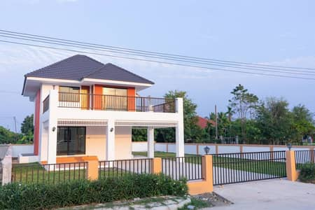 2 Bedroom Home for Sale in San Pa Tong, Chiangmai - Hurry up!!! Promotion within this September only, 2 storey detached house with all furniture.