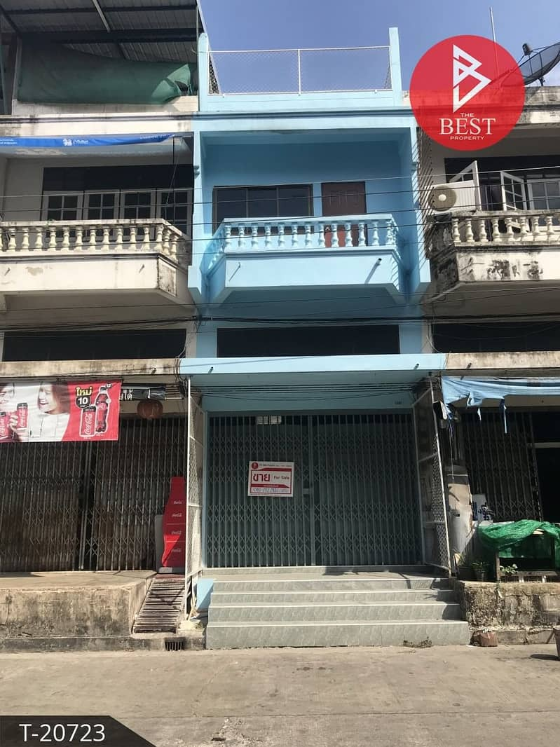 Commercial building for sale Burapha City Village, Bangwua, Chachoengsao