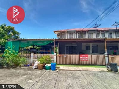3 Bedroom Townhouse for Sale in Mueang Chon Buri, Chonburi - 2 storey townhouse for sale, Family City, Chonburi (Family City) ready to move in.