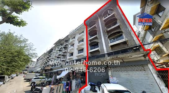 Office for Sale in Bang Kapi, Bangkok - Commercial building 3.5 Floors 24 sq. w. Near Major Cineplex Soi Lat Phrao 130, Lat Phrao Road