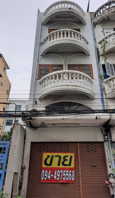 Commercial Building for Sale in Khlong Toei, Bangkok - 1 shophouse for sale, good location, near BTS Si Nut