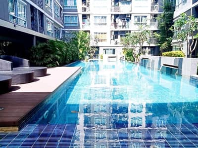 1 Bedroom Condo for Rent in Mueang Rayong, Rayong - For rent D Condo Rayong Noen Phra, size 1 bedroom, 1 bathroom, price 6000 baht per month.