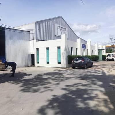 Factory for Sale in Si Racha, Chonburi - Warehouse with office for sale, 4 rai, Sriracha area, Bowin, Si Racha District, Chonburi, on the main road, price 50,000,000 baht, near Laem Chabang Port, Pinthong Industrial Estate