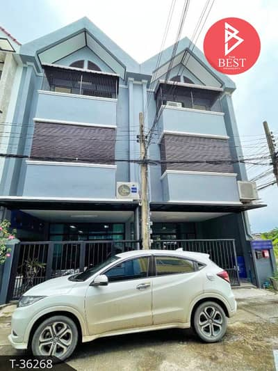 Townhouse for Sale in Lat Phrao, Bangkok - Townhome for sale, 2 booths, area 41.4 square meters, Ladprao Wang Hin 44, prime location behind the rim.