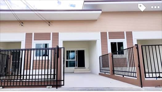 2 Bedroom Townhouse for Sale in Phrao, Chiangmai - New townhome for sale, San Sai zone, 2 bedrooms, 2 bathrooms, 1.35 MB