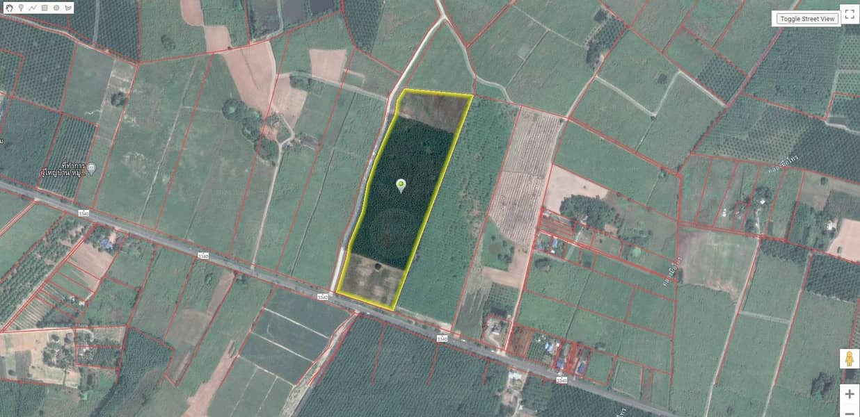 Land for sale in Bo Thong District, Chonburi Province, next to road 3340