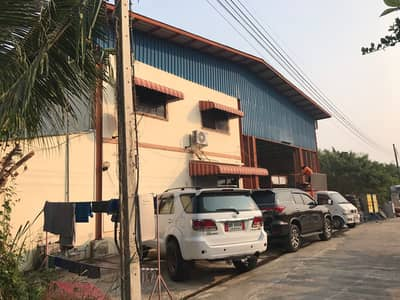 Factory for Sale in Mueang Suphan Buri, Suphanburi - Factory sales, area 309 square meters, usable area of 1,000 square meters, 3-phase electricity, weight-bearing floor 3 tons sq m, Hua Wiang Subdistrict, Mueang Suphanburi District