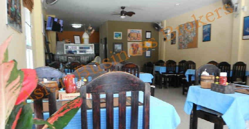 5007028 Restaurant and accommodation business for sale with land in Hua Hin