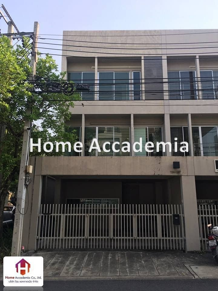 3-storey townhome for sale, 26 square meters, Noble Pattanakarn (behind the corner)