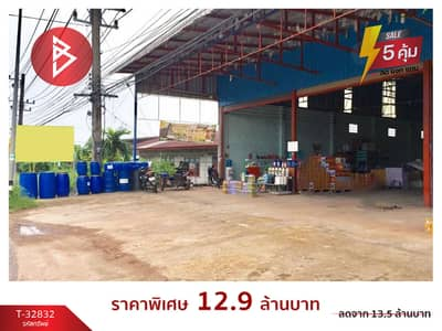 Factory for Sale in Mueang Bueng Kan, Bungkan - Warehouse for sale, 1 ngan, 70.0 square meters, Bueng Kan, good location, next to the main road.