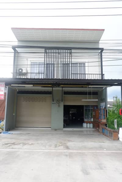 Commercial Building for Sale in Klaeng, Rayong - 2 storey commercial building for sale, 2 booths, suitable for trading, Klaeng District, Rayong