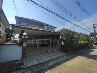 3 Bedroom Home for Sale in Lam Luk Ka, Pathumthani - Single house for sale, Sarocha Garden View, Hathai Rat, 72 sq m, Main Road, beautiful house, extension, good value, good price, located in Lam Luk Ka Ring Road, near the expressway