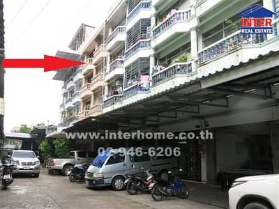 Commercial Building for Sale in Din Daeng, Bangkok - 5-storey commercial building, 32.5 sq. w. , near the Church of Mae Pra Fatima, Soi Tinnakorn, Din Daeng Road