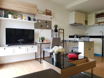 1 Bedroom Condo for Rent in Bang Kho Laem, Bangkok - Notting Hill The Exclusive Charoenkrung 93 3 units. Nice view and decoration. Sale and rent Sale with tenants Rental return is great, 2 minutes from the river