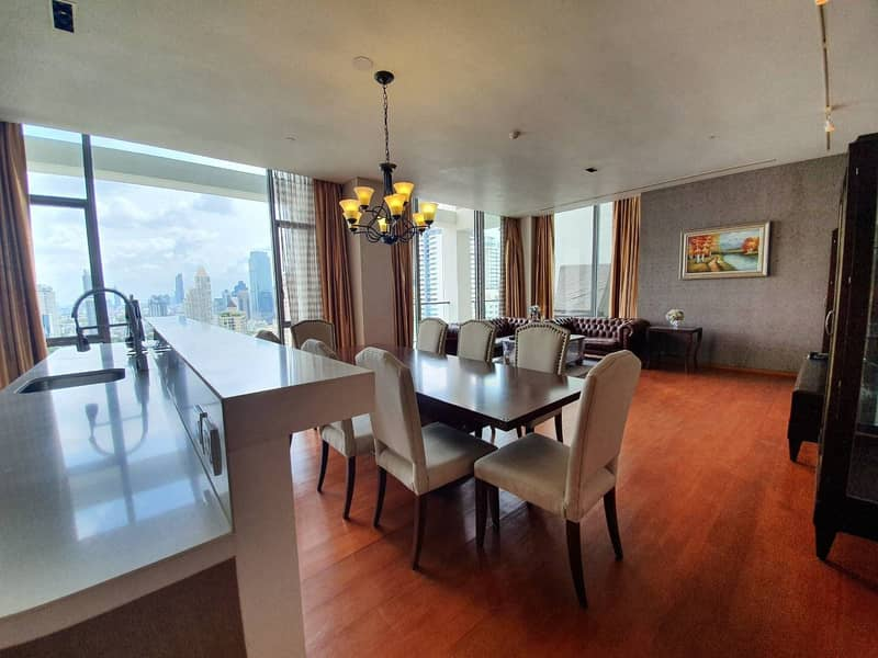 Sukhothai Residence for rent 240 sqm 3beds 4baths 240,000 per month