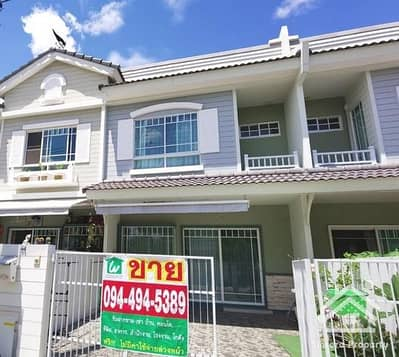 3 Bedroom Townhouse for Sale in Lam Luk Ka, Pathumthani - For Sale / House Villaggio Rangsit - Lam Luk Ka Klong 3, added and ready to move in.