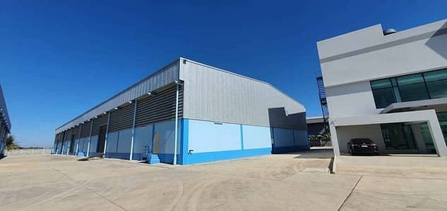 Factory for Rent in Bang Pakong, Chachoengsao - Code C3966 Warehouse for rent, Bangna-Trad Road, Km. 36, near Wellgrow Industrial Estate.