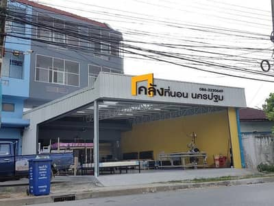 Commercial Building for Sale in Mueang Nakhon Pathom, Nakhonpathom - 2 commercial buildings for sale in the city near MEET&EAT