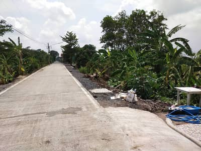 Land for Sale in Khlong Luang, Pathumthani - Land for sale in Khlong Sam, 100 sq m, 580000 baht, already filled.
