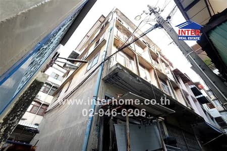 Office for Sale in Phra Nakhon, Bangkok - Commercial building 5 Floors 20 sq. w. Gold Foundry, Ban Kobu Therapy Alley, Charoen Krung Road