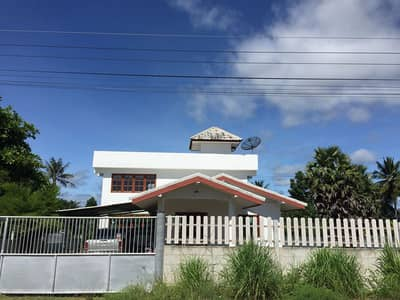 4 Bedroom Land for Sale in Suan Phueng, Ratchaburi - Selling at 553 wa with a new 2-storey house. Ready to live Make a small agricultural garden Located at Tha Khiao Subdistrict, Suan Phueng District