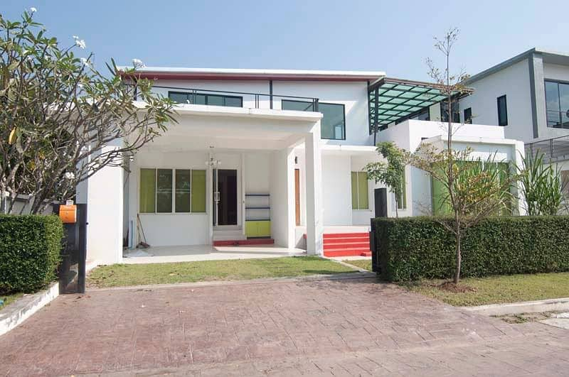 House for sale Modern Style Maerim in Chiangmai Beautiful house Modern for rent-sale In the midst of nature, Mae Rim, Chiang Mai