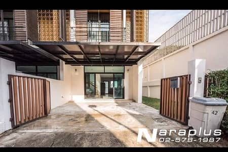4 Bedroom Townhouse for Rent in Yan Nawa, Bangkok - House for rent at Sathu Pradit 15, size 40 sq. wa. , Chong Nonsi, near expressway, ready to move in, price 50,000 / month