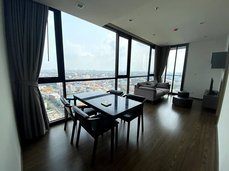 "For rent ""The Line Sukhumvit 71"" (2 bed 2 bath)"