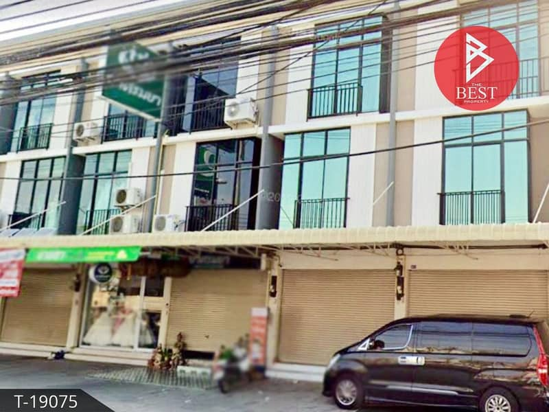 Commercial building for sale Next to Sirisothon Road, Na Mueang, Chachoengsao Province