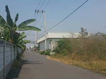 Land for Rent in Bang Bua Thong, Nonthaburi - Land for rent 500 sq m. Suitable for warehouses, other businesses, already filled, Ban Kluay Sai Noi