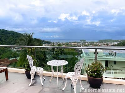 6 Bedroom Townhouse for Sale in Mueang Phuket, Phuket - 6 Bedroom Sea View Freehold Townhouse at Kata Top View