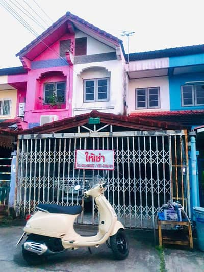 2 Bedroom Townhouse for Rent in Mueang Rayong, Rayong - Townhouse for rent near Taksin Rayong School, Fine Sushi, Lung Nu Market