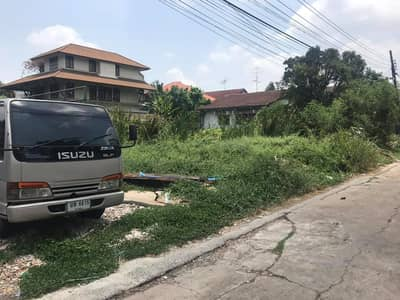 Land for Sale in Bueng Kum, Bangkok - #Vacant land_200_square wa In Soi Nawamin 24, Uthen Intersection 11, in front of the land on a concrete road