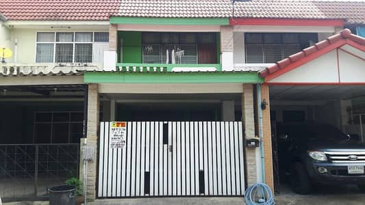 2 storey townhouse for sale, Phra Pin Village 3