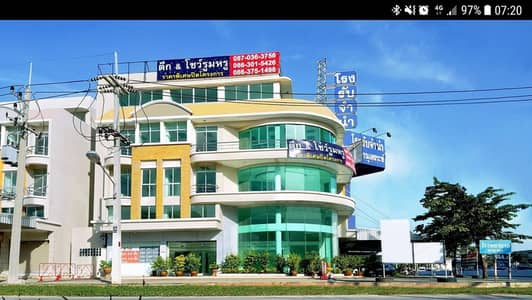 Office for Sale in Phutthamonthon, Nakhonpathom - Selling luxury showroom buildings, intersection line 5, near Central Salaya, opposite Makro Salaya
