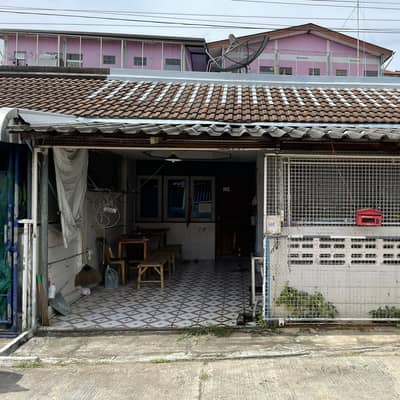 2 Bedroom Townhouse for Sale in Mueang Chachoengsao, Chachoengsao - Townhouse for sale, 1 floor, 2nd hand