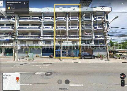 Commercial Building for Sale in Thon Buri, Bangkok - Sell/rent commercial buildings, 2 booths, Bukkhalo intersection.